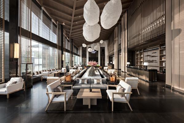 新中式售楼处 大厅