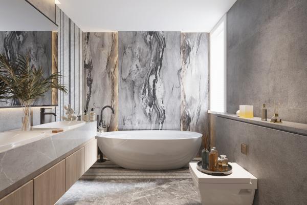 现代卫浴淋浴间