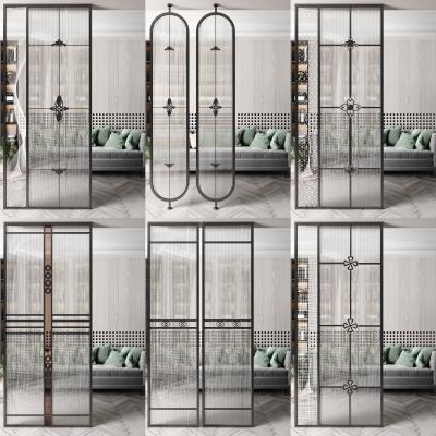 現代玻璃屏風