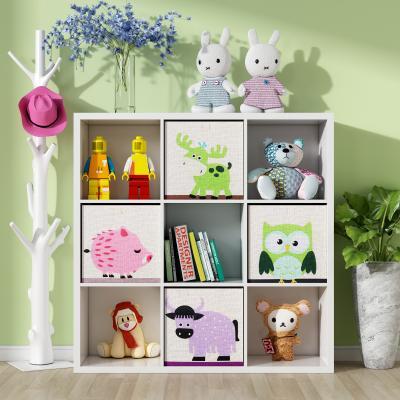 现代书柜 装饰边柜 挂衣架