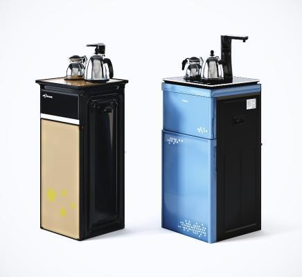 现代饮水机 水吧机 茶水机组合