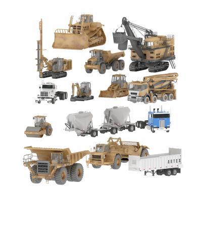 现代车辆 建筑工程