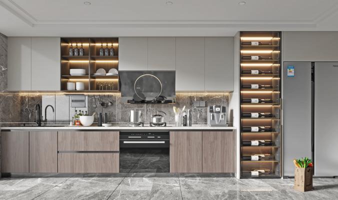 现代家居厨房