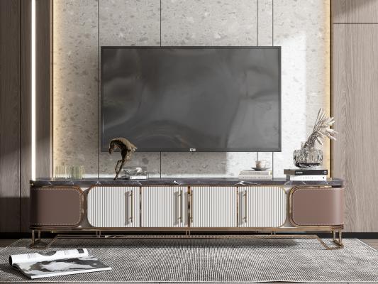 现代轻奢电视柜