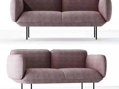 简欧双人沙发