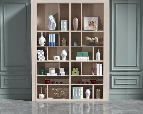 现代装饰柜组合