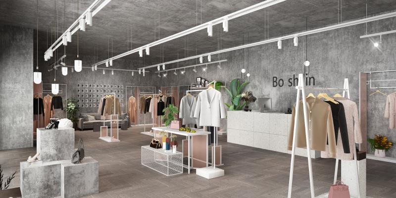 工业风服装店