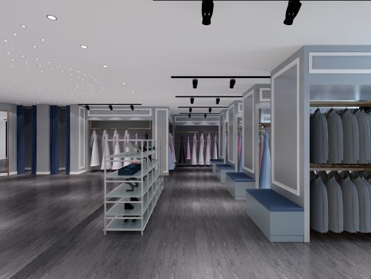 现代影楼婚纱店
