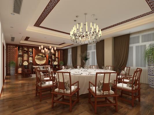 新中式餐厅 包厢