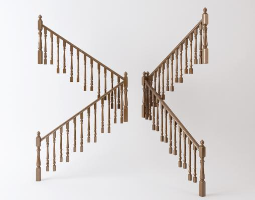 新中式楼梯扶手