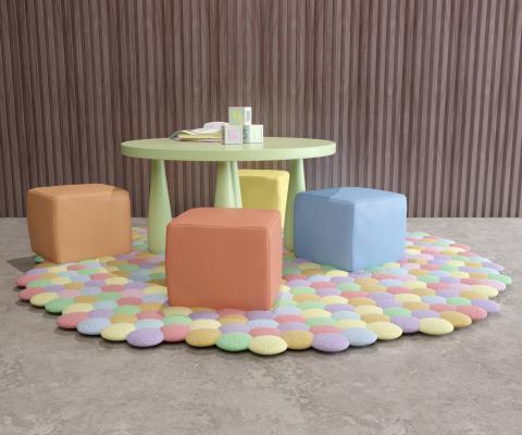 现代风格儿童桌椅