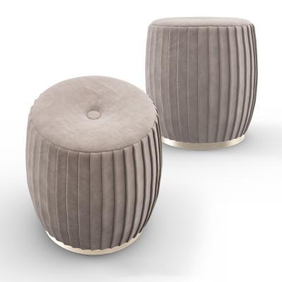 意大利velvet现代沙发凳 凳子