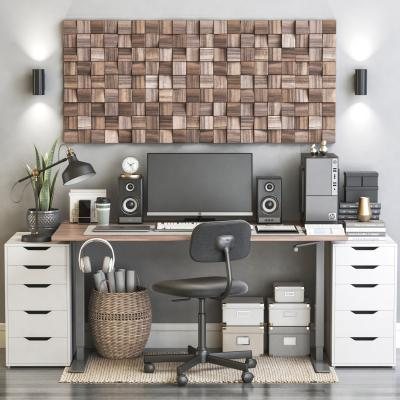现代书桌椅组合 电脑