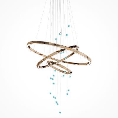 现代金属艺术吊灯