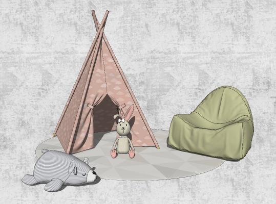 现代玩具 帐篷