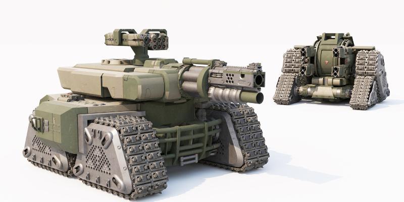 现代装甲车 战车 坦克