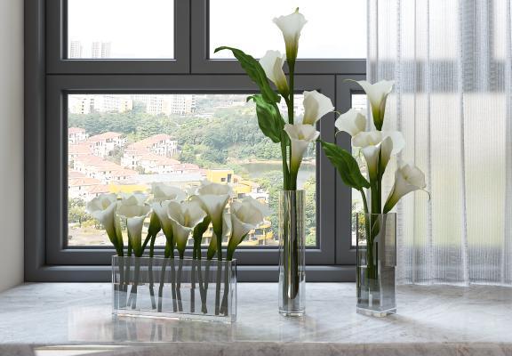 现代花瓶 摆件