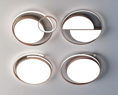 现代吸顶灯 简约吸顶灯 圆形吸顶灯