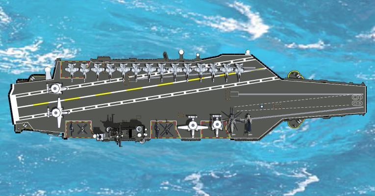 现代军事航母