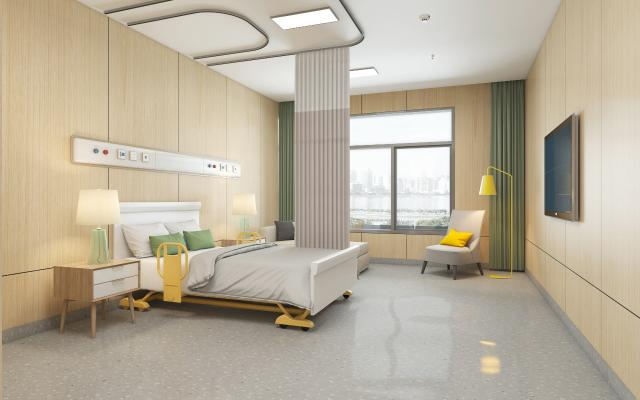 现代风格医院病房