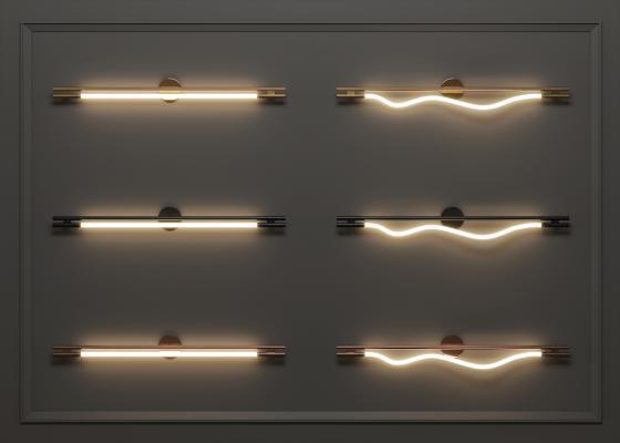 现代壁灯 镜前灯组合