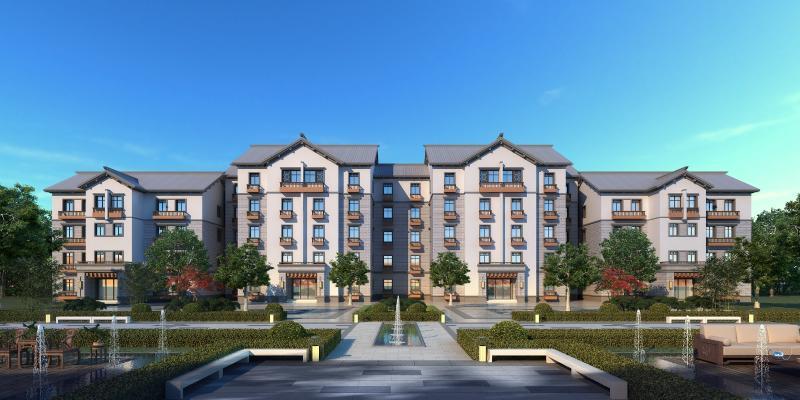 新中式风格住宅区