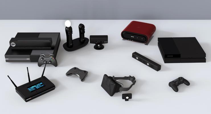 现代音响 游戏机 VR眼镜