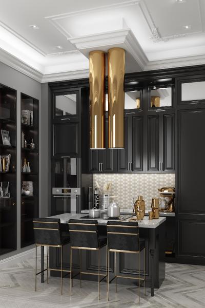 新古典厨房吧台