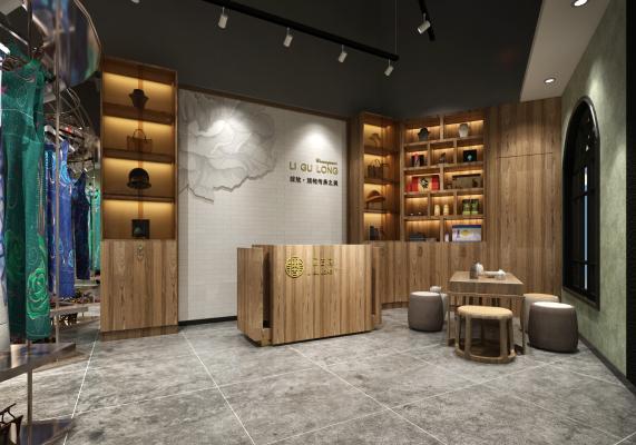 新中式旗袍店