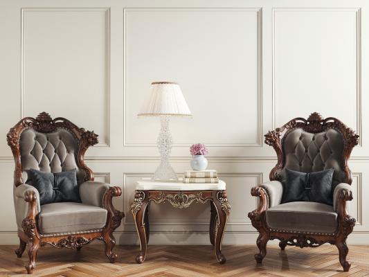 法式风格休闲椅