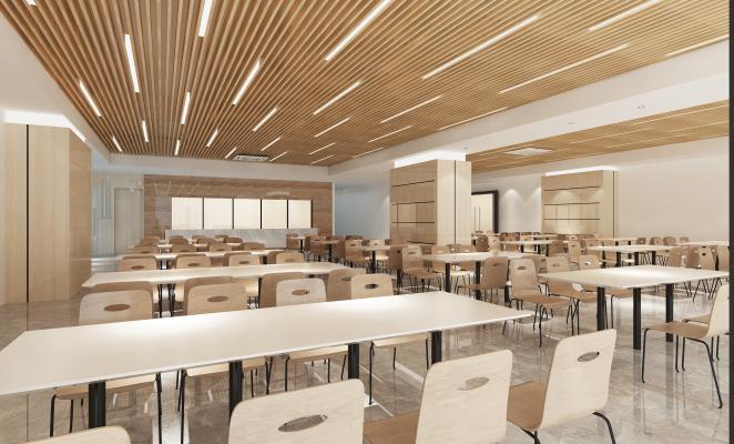 现代公司餐厅食堂