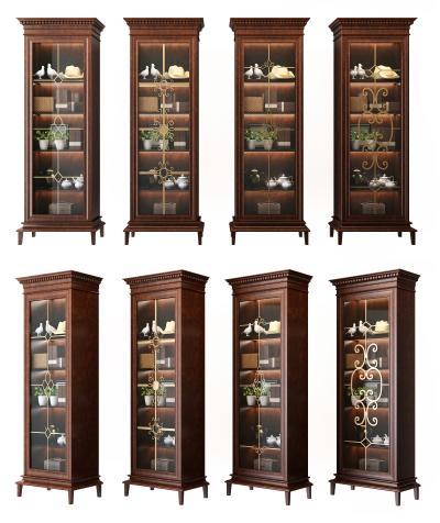 古典高柜 边柜 储物柜