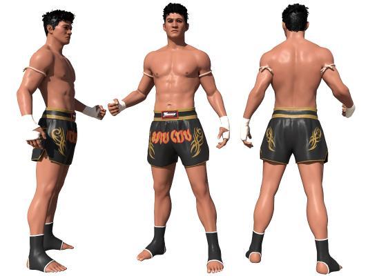 现代男人 拳击手