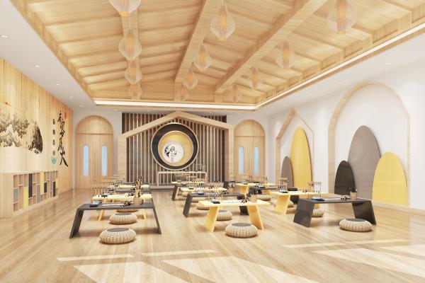 新中式幼儿园国学馆