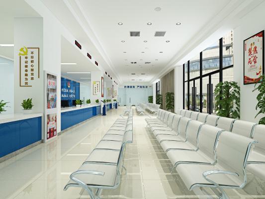 现代办公大厅
