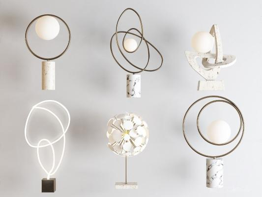 现代创意台灯