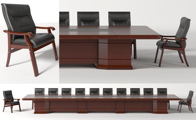 现代会议桌 会议椅