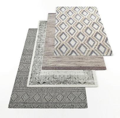 北欧地毯 毛毯 现代地毯