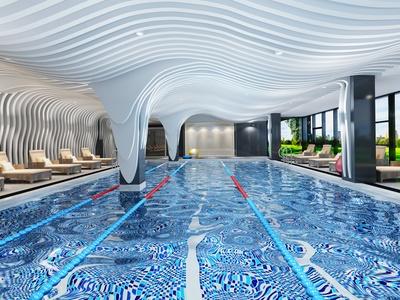 后现代游泳馆