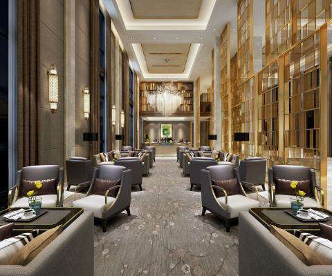 现代酒店会客厅