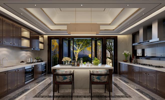 新古典风格厨房