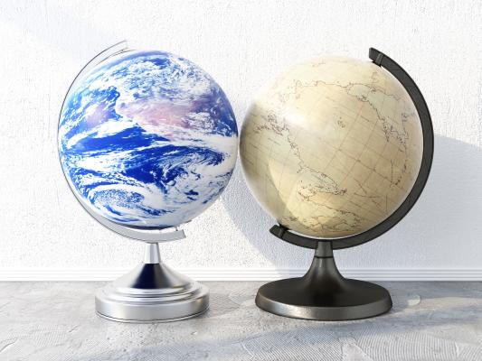 现代装饰摆件 地球仪