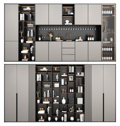 现代轻奢酒柜 装饰柜