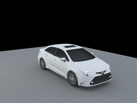 现代汽车模型