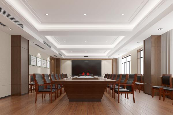 现代政府国区机关单位会议室