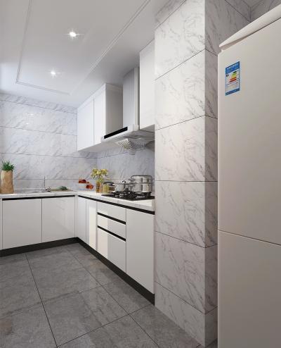 现代厨房 橱柜 电器