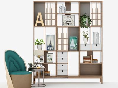 新中式装饰柜