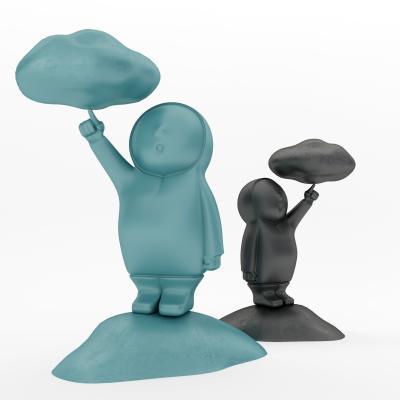 北歐人物雕塑藝術品