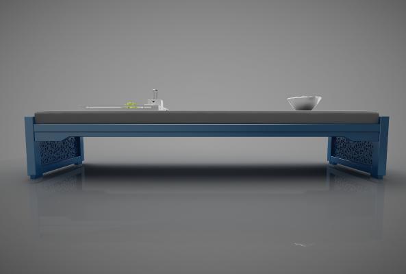 新中式风格凳子 床尾凳