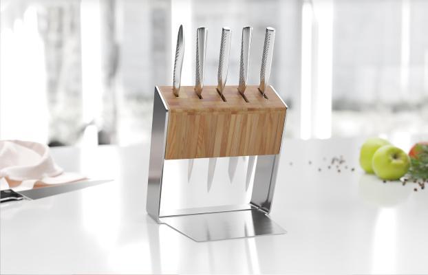 北欧厨房刀具架